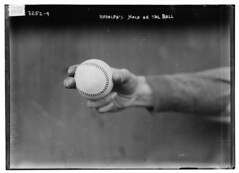 [Dick Rudolph's grip on ball, Boston NL (baseball)]  (LOC)