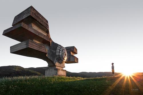 Croatia - Podgaric monument
