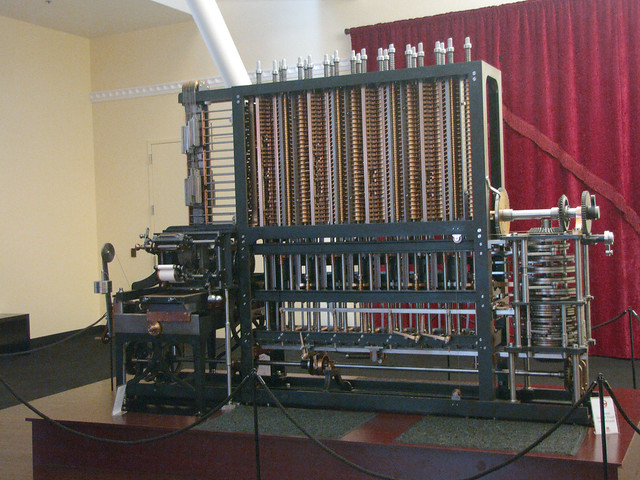 Charles Babbage's Difference Engine No. 2 | Flickr - Photo ...