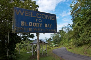Welcome to Bloody Bay, Tobago