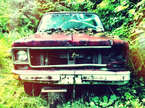truck rusty