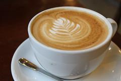 salep(0.0), espresso(1.0), cappuccino(1.0), flat white(1.0), cup(1.0), mocaccino(1.0), cortado(1.0), coffee milk(1.0), caf㩠au lait(1.0), coffee(1.0), ristretto(1.0), coffee cup(1.0), caff㨠macchiato(1.0), drink(1.0), latte(1.0), caffeine(1.0),
