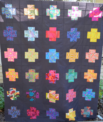 Across the Sea QAL quilt top