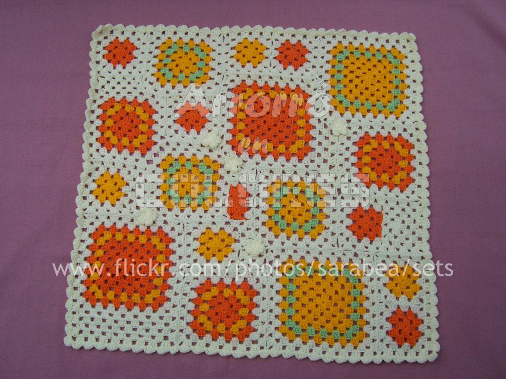 Flickr photos tagged cuadraditos picssr - Cuadraditos de crochet ...
