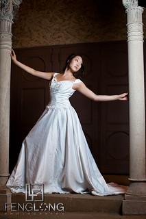 Alice's Bridal Portrait Glamour Session | Fox Theatre Midtown | Atlanta Wedding Photographer
