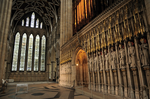 York Minster Choir Screen