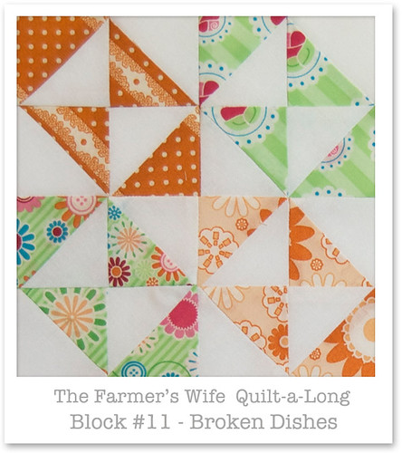 Farmer's Wife Quilt-a-Long - Block 11