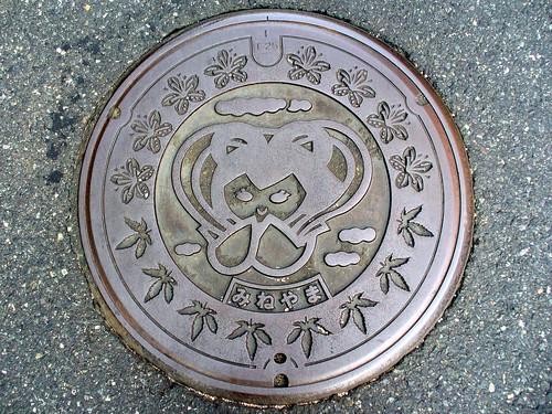 Mineyama Kyoto manhole cover(京都府峰山町のマンホール)
