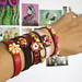 Miniature Food - Bijoux Gourmands - Leather Bracelets