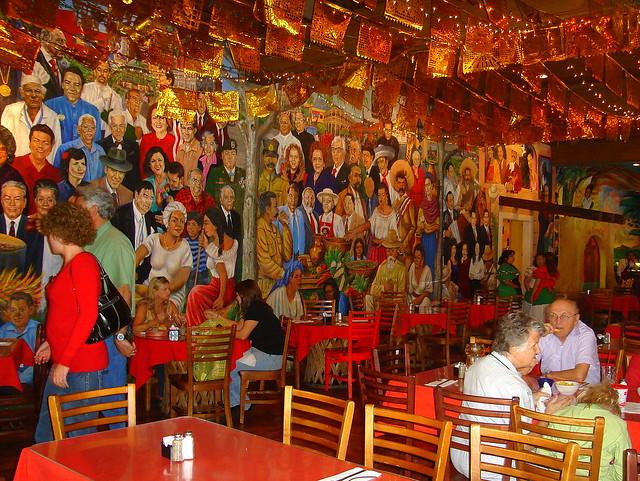 Mexican Restaurant On  San Antonio