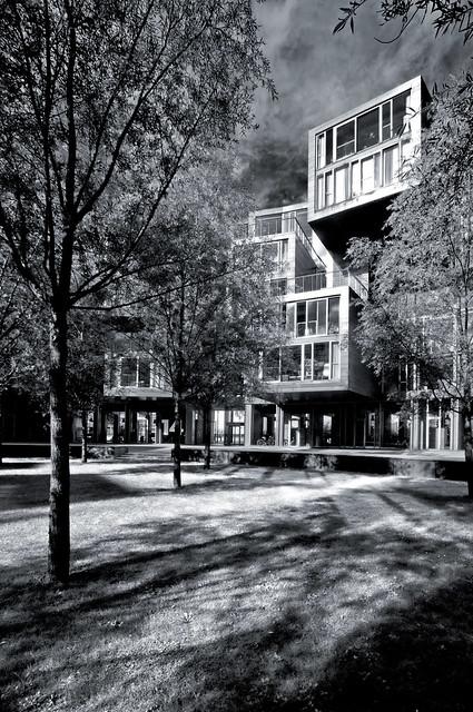 Denmark - Copenhagen - Orestad - Tietgen Dormitory 11 mono
