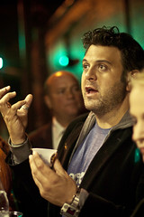 Adam Richman and Food Freaks Grilled Cheese Truck at Brooklyn's Bounty Wine & Food Fest