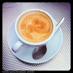 Flat White, Spuntino, Port Melbourne