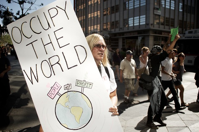 Occupy The World (chris holder, flickr)