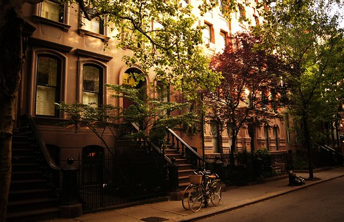 Summer on Perry Street, Greenwich Village, New York City by Vivienne Gucwa
