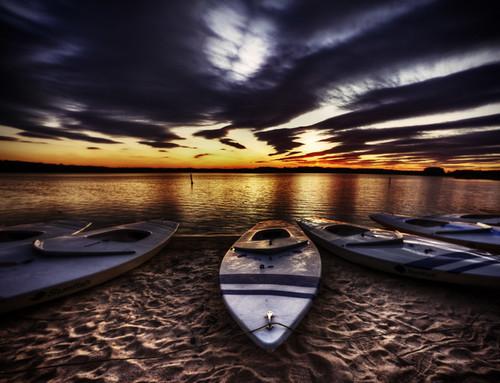 sunset usa clouds boat twilight barca tramonto nuvole northcarolina raleigh lakecrabtree cary hdr morrisville crepuscolo massimostrazzeri ziomamo