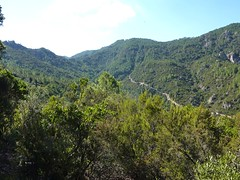 Sur le sentier vers Bocca d'Alzeta Longa : Bocca d'Alzeta Longa et le chemin de captage Sud du Mulinelle