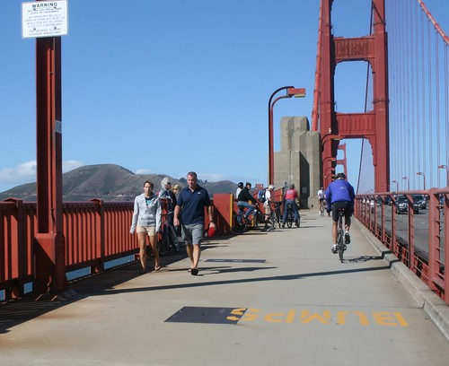 Cyclelicious 187 Golden Gate Bridge Considers Sidewalk Toll