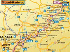 Велосипедная дорга Koblenz - Trier