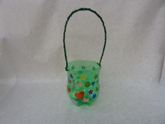 Поделки из бутылки пластиковой легкие