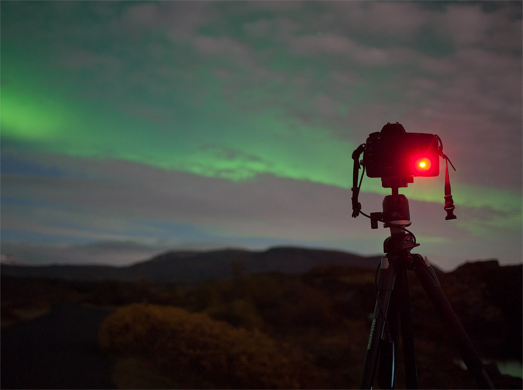 Northern Lights Camera Photographing