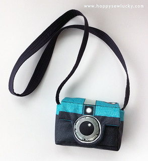 Retrotastic Camera Camera Bag