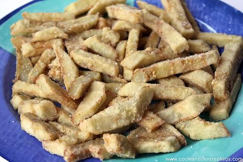 Cocinando entre olivos berenjenas fritas crujientes paso for Cocinando entre olivos navidad