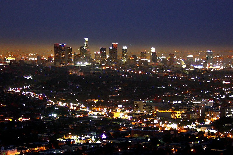 LA Downtown from Griffith Park