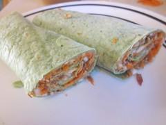 meal, breakfast, taquito, sandwich wrap, egg roll, food, dish, cuisine, burrito,