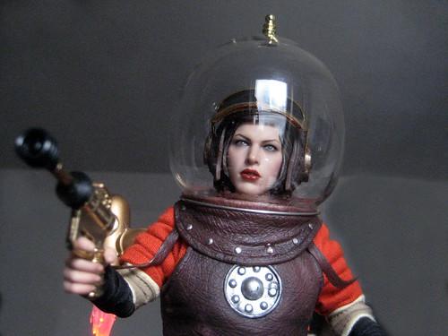 Wilma Deering Wearing Bubble Helmet 3706 | Wilma Deering ...
