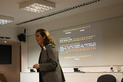 seminar, lecture, presentation,