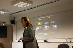 receptionist(0.0), design(0.0), meeting(0.0), seminar(1.0), lecture(1.0), presentation(1.0),