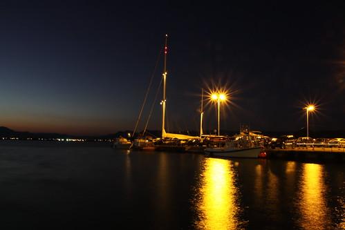 canon mediterraneo tramonto mare sigma barche grecia notturno nafplio peloponneso eos50d antonellotommy