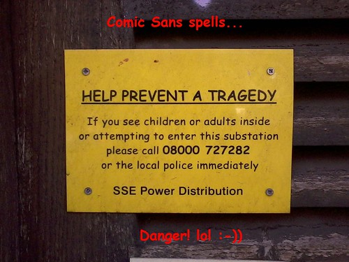 Comic Sans abuse Vol. 325