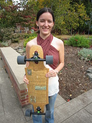 Aldo Leopold Essay on longboard by Theresa Barosh