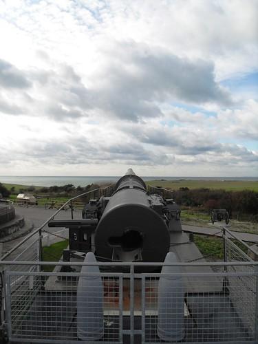 Railway Gun - with shells