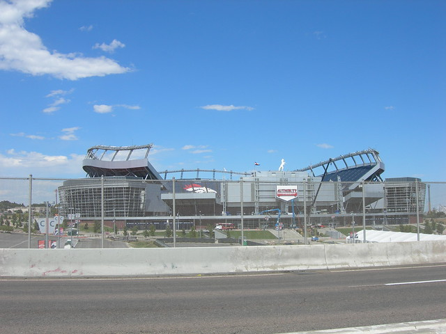 Old Mile High Stadium Seats http://www.flickr.com/photos/auvet/6136323735/