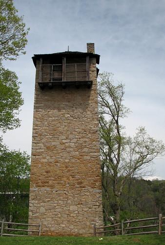 Austinville, Virginia - Jackson Ferry Shot Tower 1