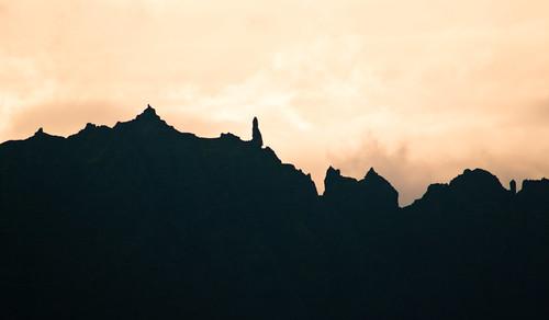 Morning ridgeline