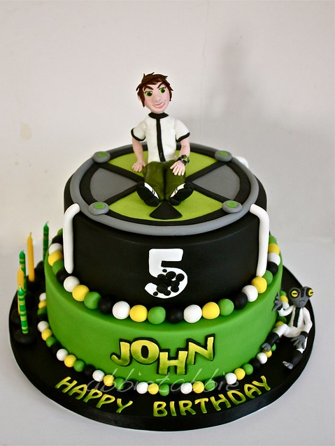 BEN10 Cake A Gallery On Flickr