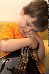 hugging the mandolin good night
