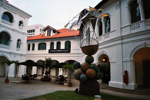 singapore art museum - walking around singapore