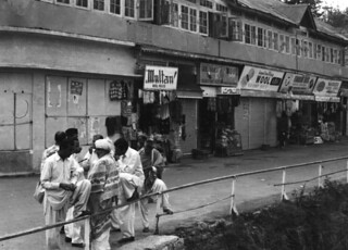 Row of Stores, Pakistan, 1977