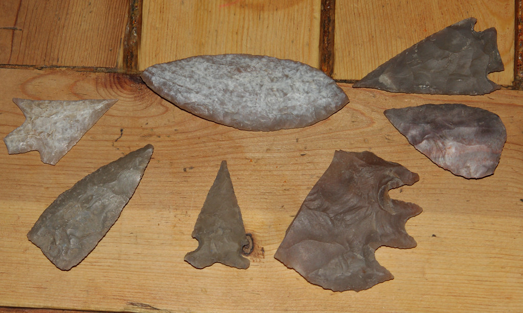 Indian stone war hammers, axe, celt and tool sale
