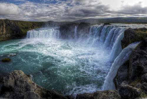 godafoss waterfall iceland