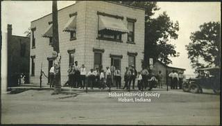 Ainsworth saloon building circa 1920