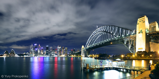 Night Sydney Panorama
