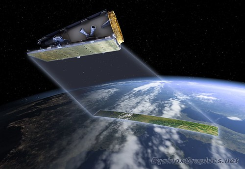 SSTL NovaSAR spacecraft