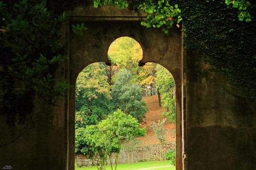 Gateway to the green fields
