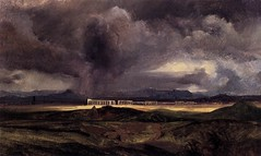 Stormy Weather over the Roman Campagna, 1829, by Karl Blecher